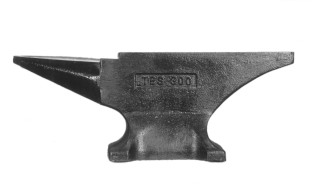 Tfs single-horn blacksmith anvil