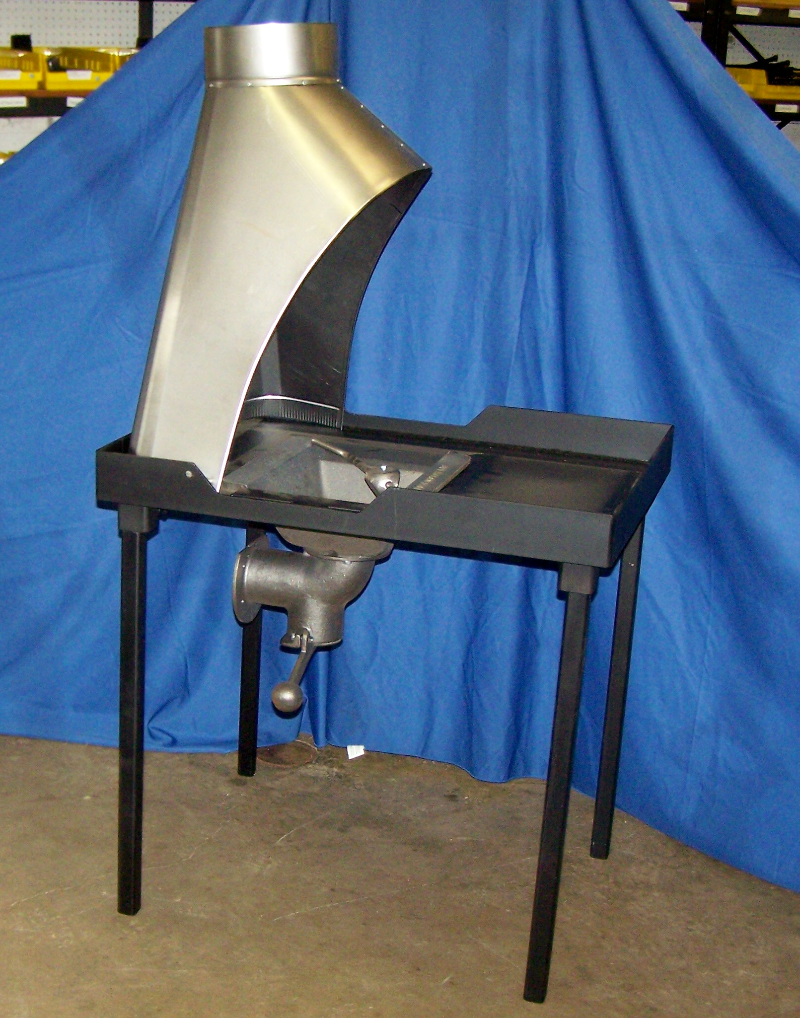 Centaur C36 Floor Model Coal Forge with Hood - Eligible for Free Shipping.  See Home Page for full details