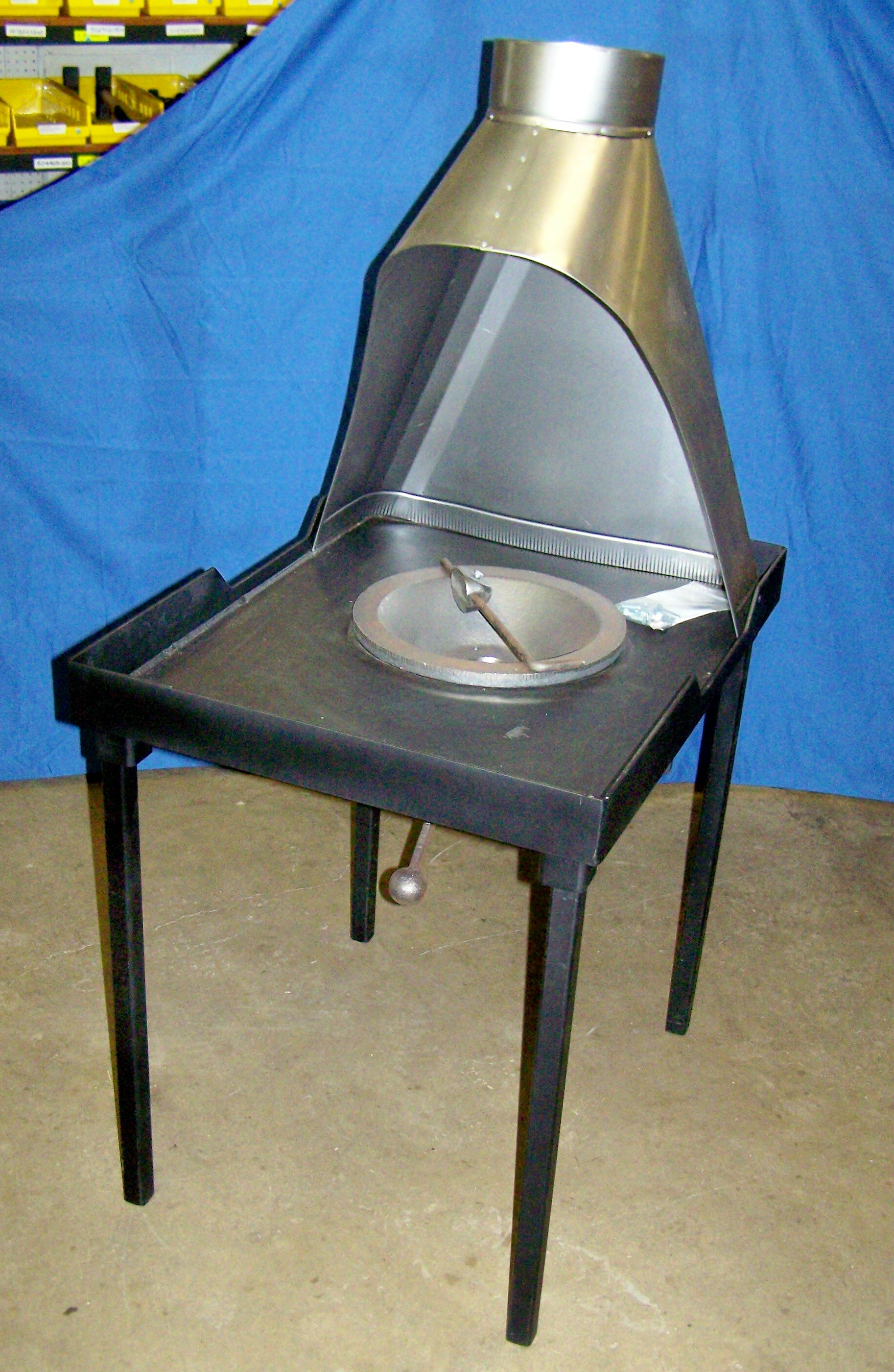 Centaur C37 Floor Model Coal Forge with Coke Firepot and Hood - Eligible for Free Shipping. See Home Page for detals