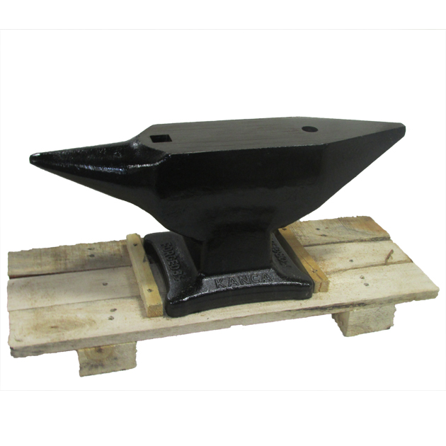 Kanca 110 lbs. Drop Forged Double Horn Anvil (50 KG)